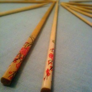 Typical pair of chopsticks from the Henan province
